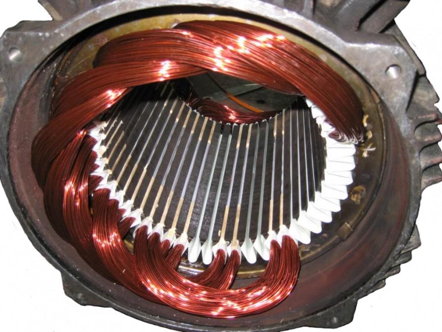 Электродвигатель перемотка